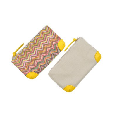 Pouch zigzag Shanghai front and back